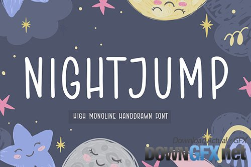 Nightjump Handwriting Font YH