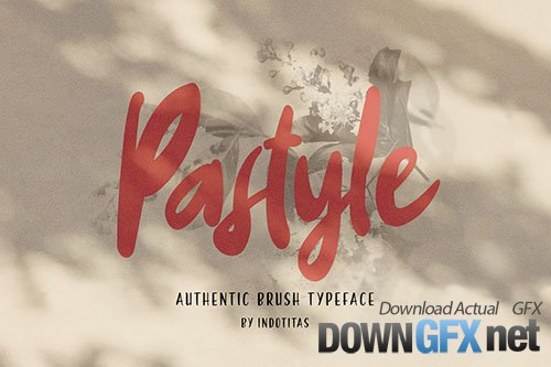 PASTYLE - Authentic Brush Typeface