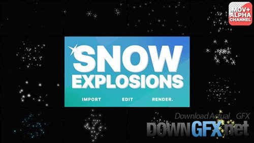 Snow Explosions | Motion Graphics 29521610
