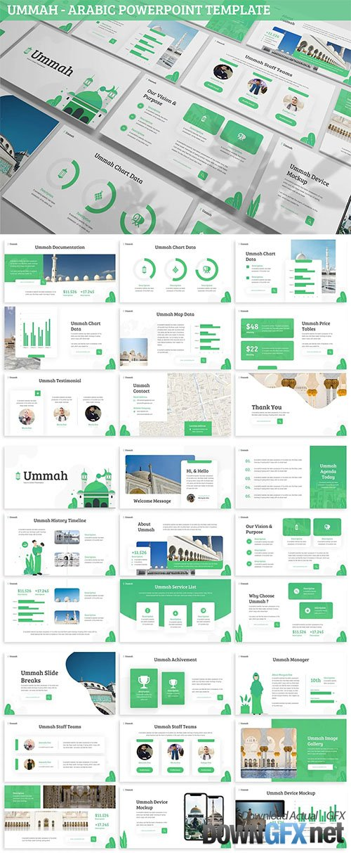 Ummah - Arabic Powerpoint Template