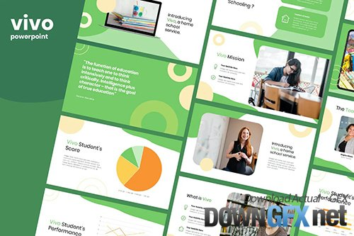 Vivo - Education Template Powerpoint