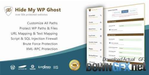 Hide My WP Ghost Premium v5.0.20 - WordPress Plugin for Against Attacks - NULLED