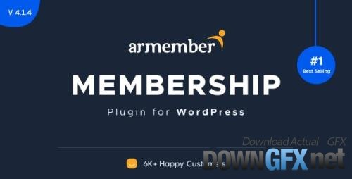 CodeCanyon - ARMember v4.3.1 - WordPress Membership Plugin - 17785056 + Add-Ons - NULLED