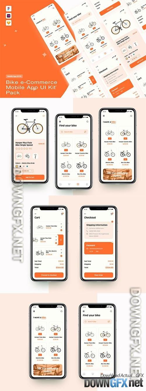 Bike e-Commerce App UI Kit