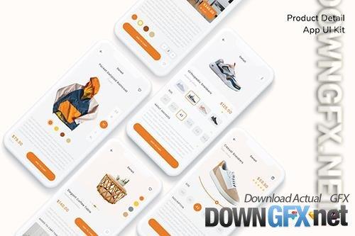 Product Detail App UI Kit