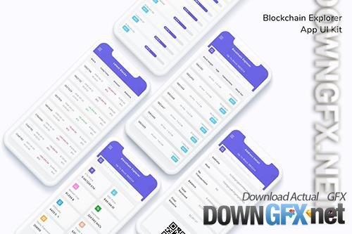Blockchain Explorer App UI Kit