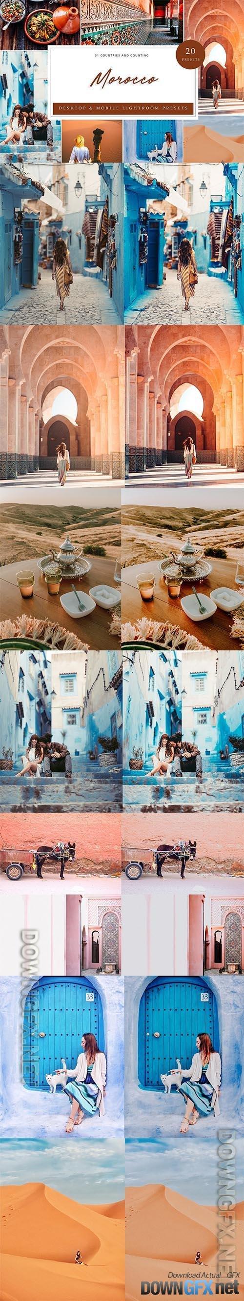 Lightroom Presets - Morocco