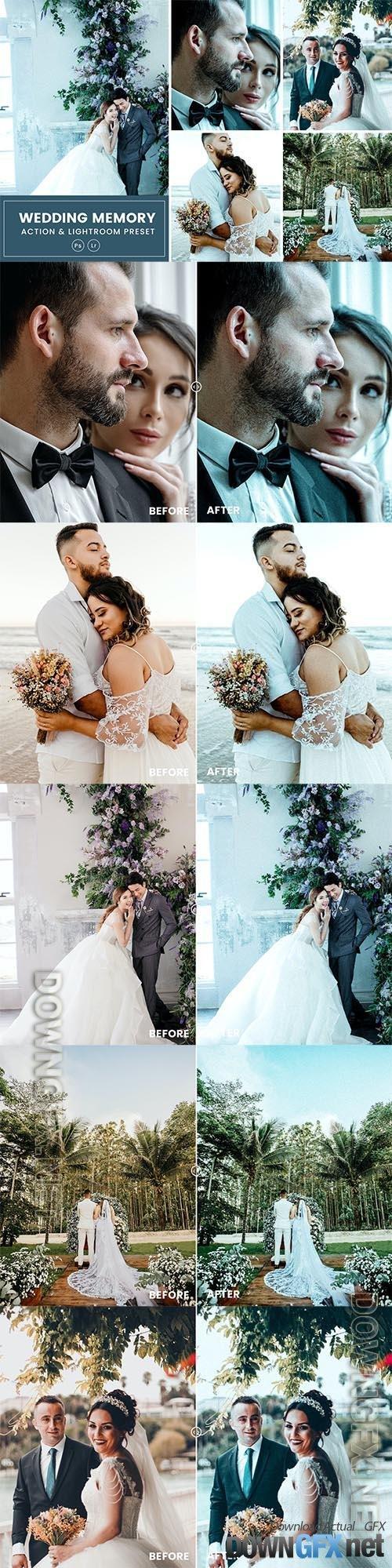 Wedding Memory Action & Lightrom Presets
