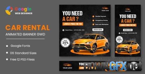 CodeCanyon - Rent A Car HTML5 Banner Ads GWD v1.0 - 33671163