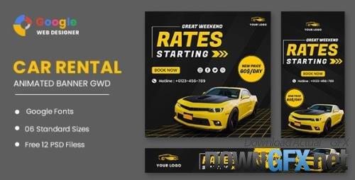 CodeCanyon - Rent Car HTML5 Banner Ads GWD v1.0 - 33671189