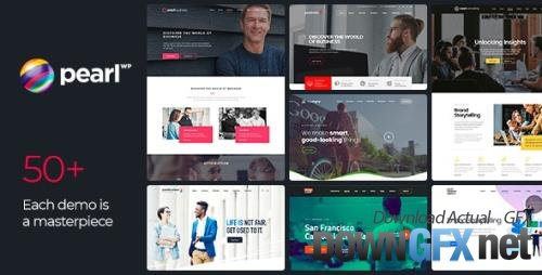 ThemeForest - Pearl v3.3.1 - Corporate Business WordPress Theme - 20432158 - NULLED