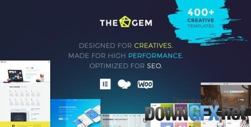ThemeForest - TheGem v5.1.1.1 - Creative Multi-Purpose High-Performance WordPress Theme - 16061685 - NULLED
