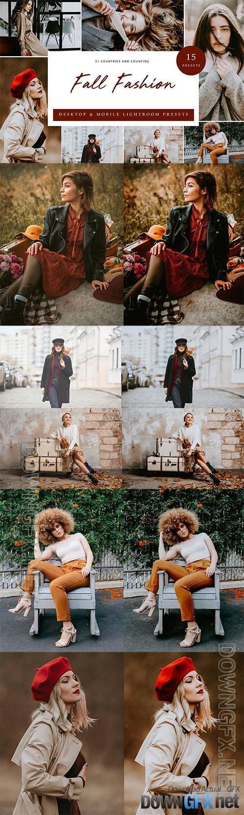 Lightroom Presets - Fall Fashion