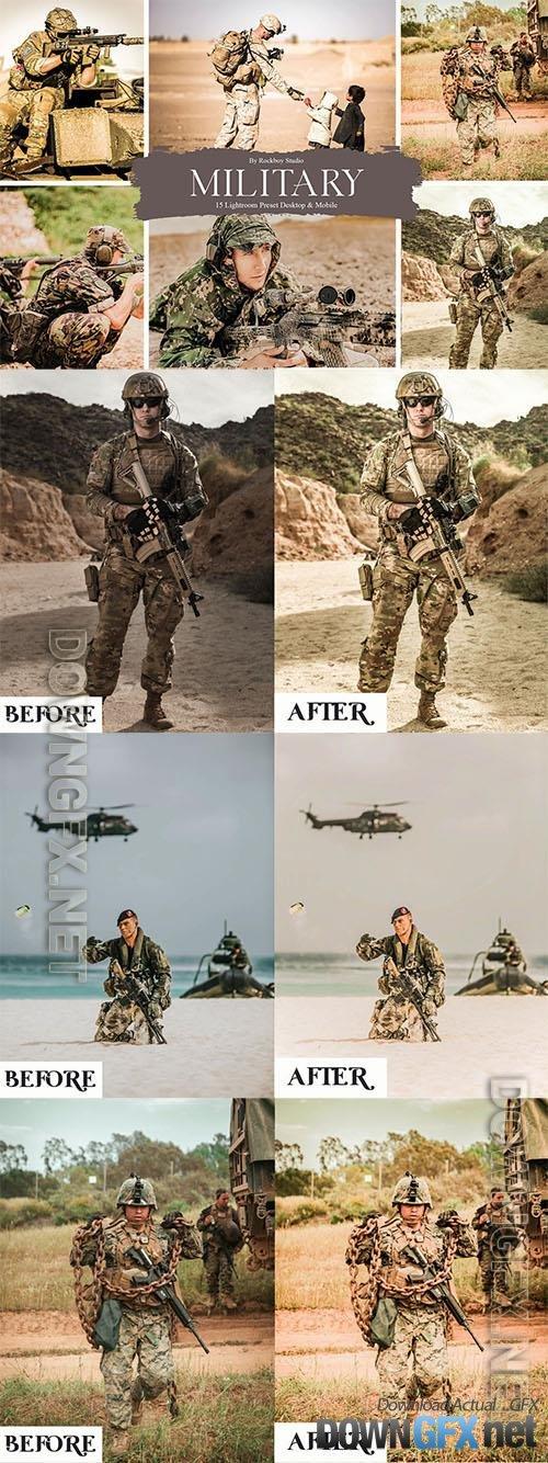 15 Military Lightroom Presets