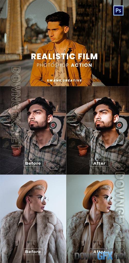 Realistic Film Photoshop Action