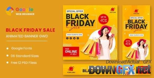 CodeCanyon - Black Friday Sale HTML5 Banner Ads GWD v1.0 - 33747795