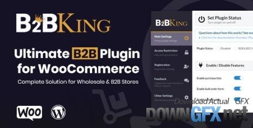 CodeCanyon - B2BKing v3.7.1 - The Ultimate WooCommerce B2B & Wholesale Plugin - 26689576