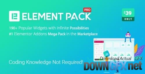 CodeCanyon - Element Pack v5.10.2 - Addon for Elementor Page Builder WordPress Plugin - 21177318 - NULLED