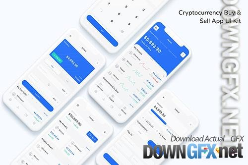 Cryptocurrency Buy & Sell App UI Kit