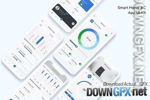 Smart Home AC App UI Kit