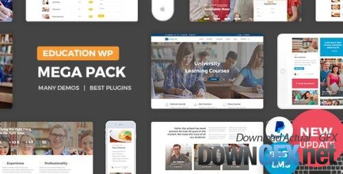 ThemeForest - Education Pack v2.5 - Education WordPress Theme - 16649896