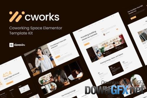 ThemeForest - Cworks v1.0.0 - Coworking Space Elementor Template Kit - 33750634