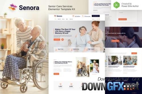 ThemeForest - Senora v1.0.0 - Senior Care Services Elementor Template Kit - 33786663