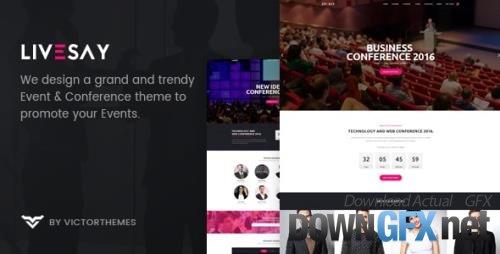 ThemeForest - Livesay v1.9.1 - Event & Conference WordPress Theme - 20265017