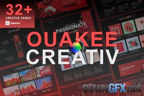 ThemeForest - Ouakee v1.0.1 - Creative Company & Professional Portfolio Elementor Template Kit - 33786237