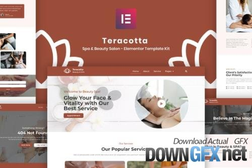 ThemeForest - Teracotta v3.4.3 - Spa & Beauty Salon - Elementor Template Kit - 33737357