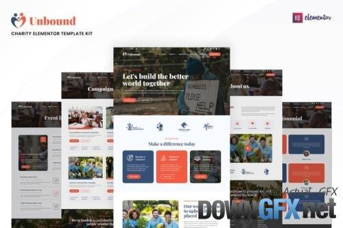 ThemeForest - Unbound v1.0.0 - Charity & Nonprofit Elementor Template Kit - 33790322