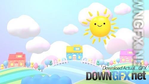 VideoHive - Cute Sun And Sweet Home 33576056