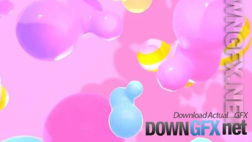 VideoHive - Floating Colorful Blobs 33609643