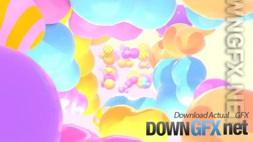 VideoHive - Through Colorful Blobs 33634177