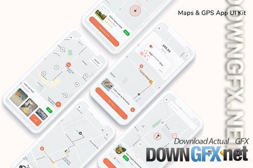 Maps & GPS App UI Kit
