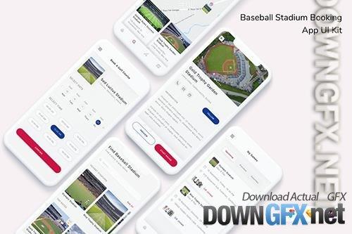 Baseball Stadium Booking App UI Kit