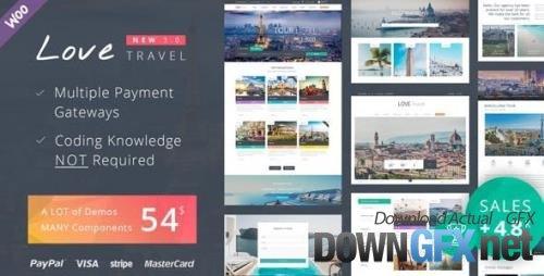 ThemeForest - Love Travel v4.2 - WordPress Theme - 7704831