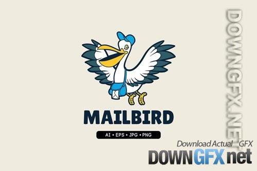Mailbird - Mascot Logo