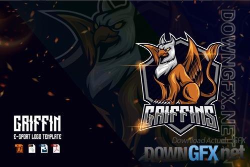 Griffin E-sport logo template
