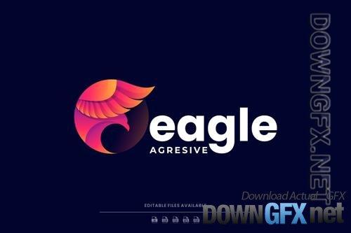 Eagle Gradient Colorful Logo