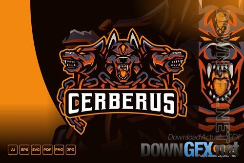 Cerberus Mascot Logo