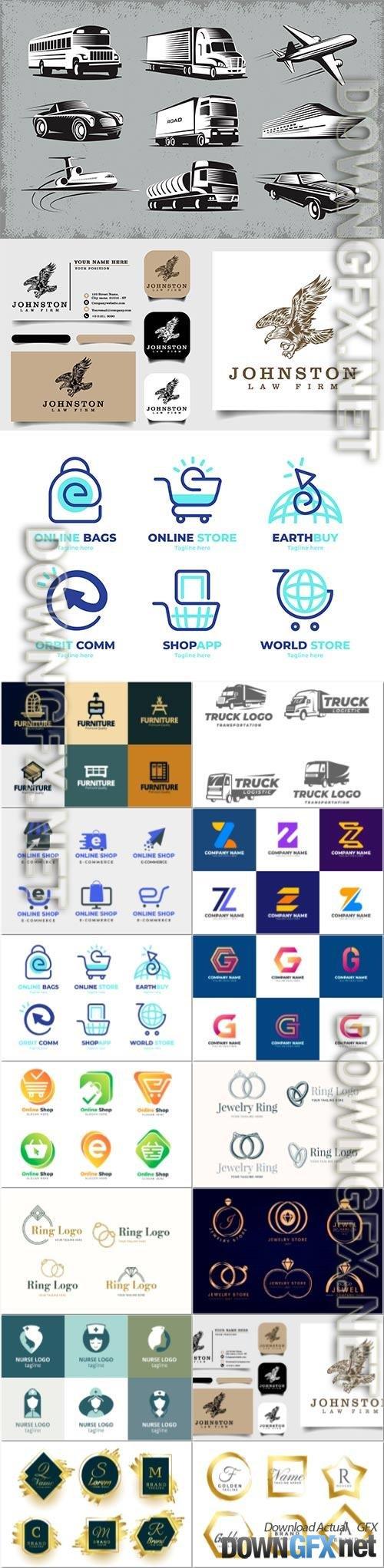 Vector logo template collection