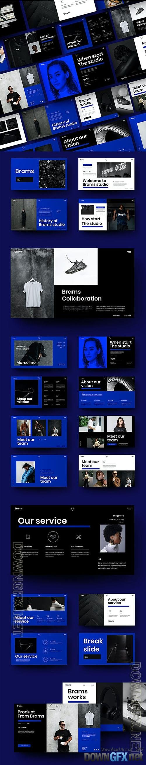 Brams - Business Powerpoint, Keynote and Google Slides Template