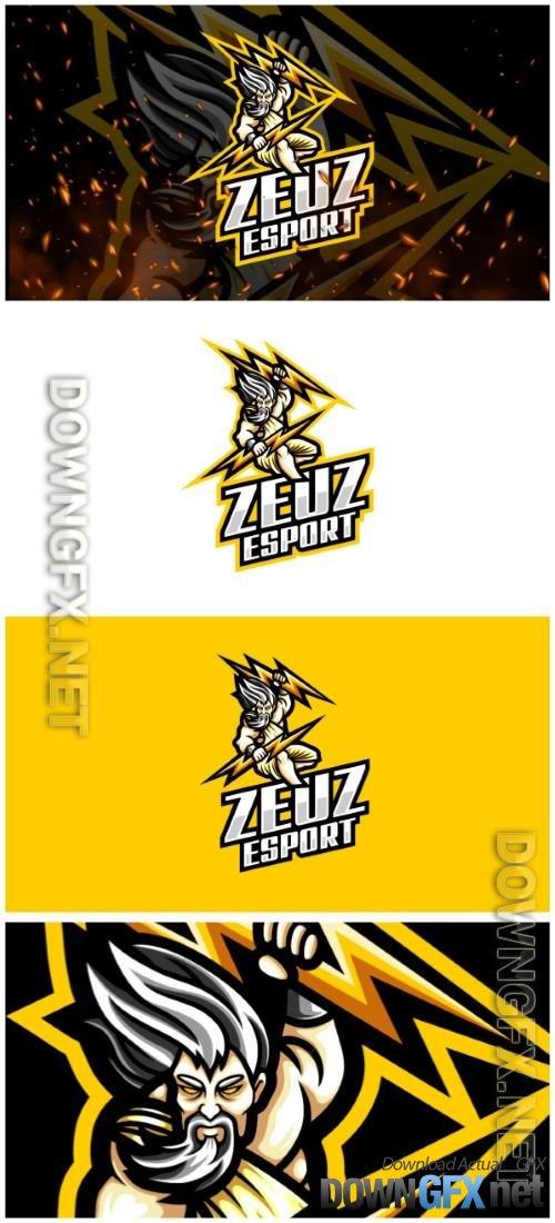 Zeus E-Sport and Sport Logo Template