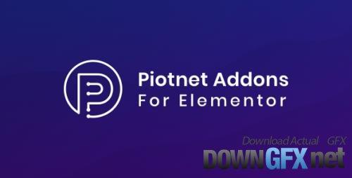 Piotnet Addons For Elementor Pro v6.4.8 - NULLED
