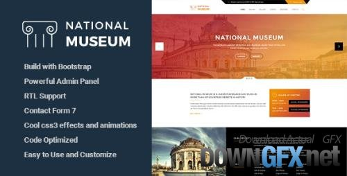 ThemeForest - Museum v3.0 - Responsive WordPress Theme - 13716783