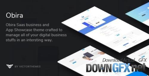 ThemeForest - Obira v1.9.5 - SaaS Business & App Showcase WordPress Theme - 21386053