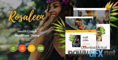 ThemeForest - Rosaleen v1.0.3 - Health Coach, Speaker & Motivation WordPress Theme - 27033370 - NULLED
