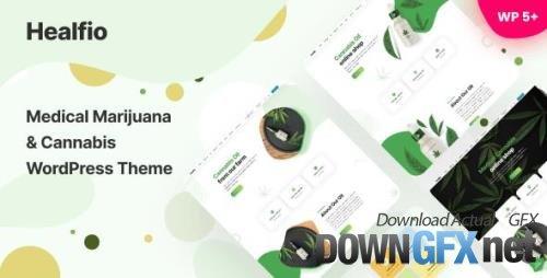 ThemeForest - Healfio v1.26 - Medical Marijuana & Coffeeshop WordPress Theme - 32297074