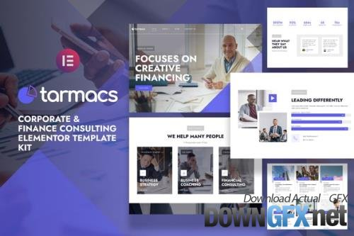 ThemeForest - Tarmacs v1.0.1 - Corporate & Finance Consulting Template Kit - 32731774